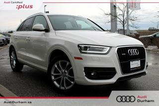 Used 2015 Audi Q3 2.0T Technik + Nav | Rear Cam | Blind Spot for sale in Whitby, ON
