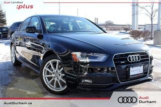 Used 2015 Audi A4 2.0T Progressiv + Nav | Keyless | AWD for sale in Whitby, ON