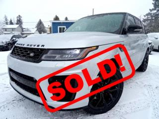 Used 2018 Land Rover Range Rover Sport SVR FULLY LOADED CERTIFIED for sale in Guelph, ON