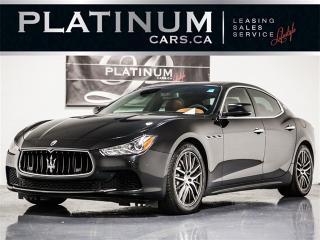 Used 2014 Maserati Ghibli S Q4 AWD, NAVIGATION, CAMERA, Sunroof for sale in Toronto, ON