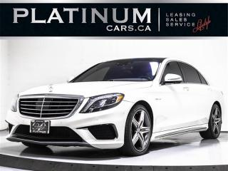 Used 2014 Mercedes-Benz S-Class S63 AMG 4MATIC, NAVI, DRIVERS ASSIST, MASSAGE, CAM for sale in Toronto, ON