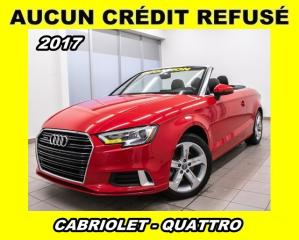 Used 2017 Audi A3 2.0T quattro for sale in St-Jérôme, QC