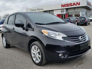 Used 2016 Nissan Versa NOTE SL w/NAV,heated seats,rear cam,sxm radio for sale in Cambridge, ON