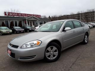 Used 2007 Chevrolet Impala LT for sale in Oshawa, ON