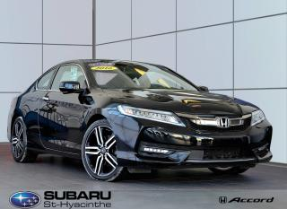 Used 2016 Honda Accord Touring 2p. auto. for sale in St-Hyacinthe, QC