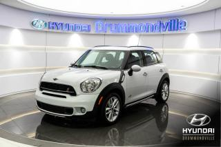 Used 2015 MINI Cooper Countryman S + GARANTIE + TOIT PANO + MAGS + WOW !! for sale in Drummondville, QC
