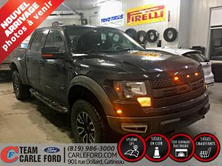 Used 2012 Ford F-150 Ford F-150 SVT Raptor 2012, toit ouvrant for sale in Gatineau, QC