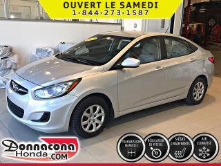Used 2013 Hyundai Accent GL*AIR CLIM*CRUISE*SIEGES CHAUFFANTS* for sale in Donnacona, QC