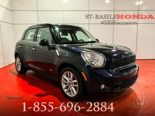 Used 2013 MINI Cooper Countryman BAS KILOS ALL4 + CUIR !!! for sale in St-Basile-le-Grand, QC