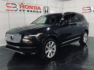 Used 2017 Volvo XC90 T6 INSCRIPTION + CLIMATE + VISION PKG + for sale in St-Basile-le-Grand, QC