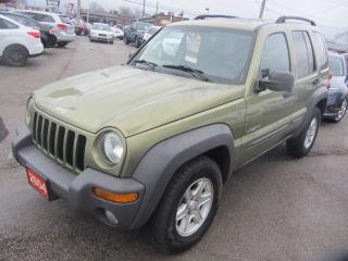 Used 2004 Jeep Liberty Sport 4X4 Trail Rated for sale in Hamilton, ON