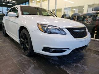 Used 2013 Chrysler 200 S, NAVI, HEATED SEATS, SUNROOF for sale in Edmonton, AB
