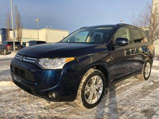 Used 2014 Mitsubishi Outlander SE/ 4WD/LOCAL VEHICLE for sale in Edmonton, AB