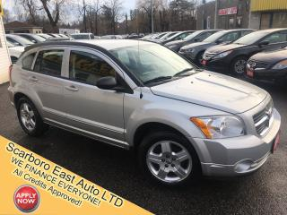 Used 2009 Dodge Caliber SXT/ AUTO/ POWER GROUP/ ALLOYS/ LOADED! for sale in Scarborough, ON