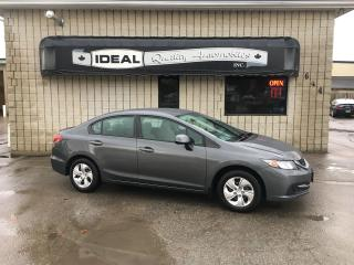 Used 2013 Honda Civic LX for sale in Mount Brydges, ON
