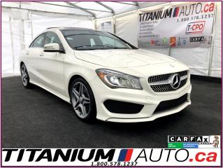 Used 2015 Mercedes-Benz CLA-Class 4Matic-AWD-Camera-GPS-Pano Roof-HID Xenon Lights- for sale in London, ON