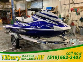Used 2018 Yamaha GP1800 HARDLY USED! for sale in Tilbury, ON