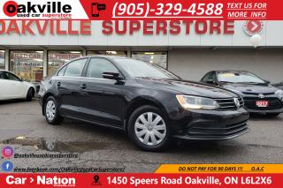 Used 2015 Volkswagen Jetta TRENDLINE+ | B/U CAM | SUNROOF | HEATED SEATS for sale in Oakville, ON