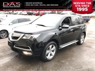 Used 2010 Acura MDX TECH PKG NAVIGATION/DVD/7 PASS for sale in North York, ON