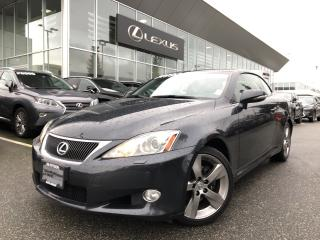 Used 2010 Lexus IS 250 C 6A Rare Find, Full Load + Full Service History, Lo for sale in North Vancouver, BC