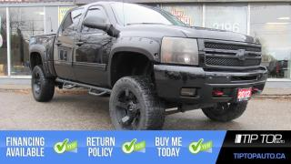 Used 2012 Chevrolet Silverado 1500 LT ** Lifted, FlowMaster Exhaust, Sunroof, Side St for sale in Bowmanville, ON