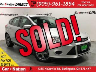 Used 2013 Ford Focus SE| ONE PRICE INTEGRITY| LOCAL TRADE| for sale in Burlington, ON