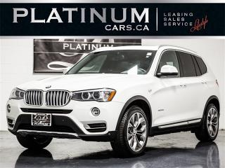 Used 2015 BMW X3 xDrive28d NAVI, CAM, PANO, BLINDSPOT, Lane Depart for sale in Toronto, ON