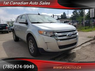 Used 2011 Ford Edge LIMITED-NAVI-PAN ROOF-ACCIDENT FREE-LOW PAYMENTS!! for sale in Edmonton, AB