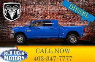 Used 2018 RAM 3500 4x4 Mega Cab SLT Dually Diesel for sale in Red Deer, AB