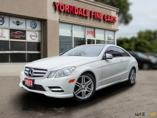 Used 2013 Mercedes-Benz E-Class E350 4Matic. AMG. Panoramic. Navi. for sale in Toronto, ON