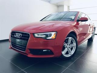 Used 2014 Audi A5 Komfort for sale in Sherbrooke, QC