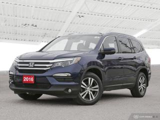 Used 2016 Honda Pilot EX-L RES USED SALES TEAM NOW IN THE MAIN SHOWROOM for sale in Waterloo, ON