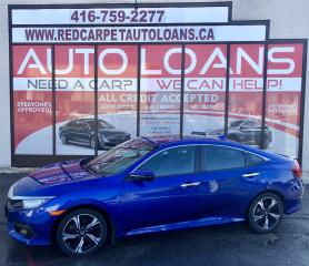 Used 2016 Honda Civic Touring TOURING-ALL CREDIT ACCEPTED for sale in Scarborough, ON