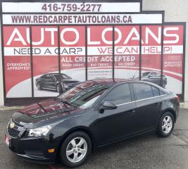 Used 2014 Chevrolet Cruze 2LT-ALL CREDIT ACCEPTED for sale in Scarborough, ON
