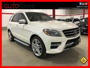 Used 2013 Mercedes-Benz ML-Class ML550 4MATIC PREMIUM BANG&OLUFSEN DRIVE ASSIST for sale in Vaughan, ON