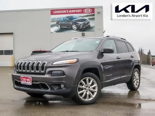 Used 2015 Jeep Cherokee Limited for sale in London, ON
