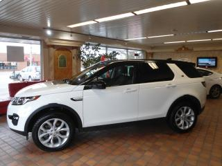 Used 2017 Land Rover Discovery 7PASSENGER LANE ASS B-TOOTH 1 OWNER NO ACCIDENT for sale in Oakville, ON