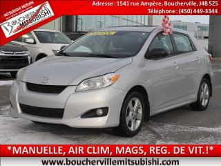 Used 2013 Toyota Matrix T.ouvrant, A/c for sale in Boucherville, QC