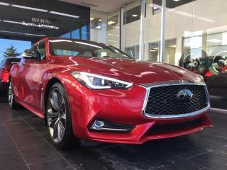 New 2019 Infiniti Q60 RED SPORT W/ PROACTIVE PACKAGE for sale in Edmonton, AB