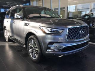 Used 2019 Infiniti QX80 EXECUTIVE DEMO. 7 Passenger W/ ProActive Package for sale in Edmonton, AB