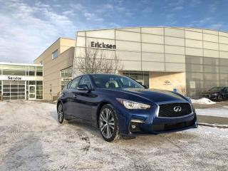 New 2019 Infiniti Q50 3.0t Signature Edition for sale in Edmonton, AB