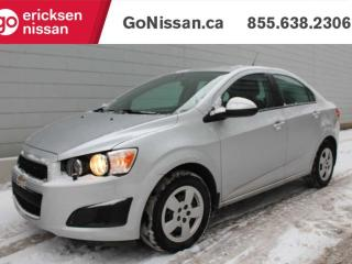 Used 2014 Chevrolet Sonic LS: AUTOMATIC, LOW KMS, CLEAN for sale in Edmonton, AB
