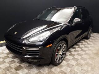 Used 2016 Porsche Cayenne TURBO | CPO | Ext. Warranty | Premium PLUS | Sport Exhaust | Soft Close for sale in Edmonton, AB