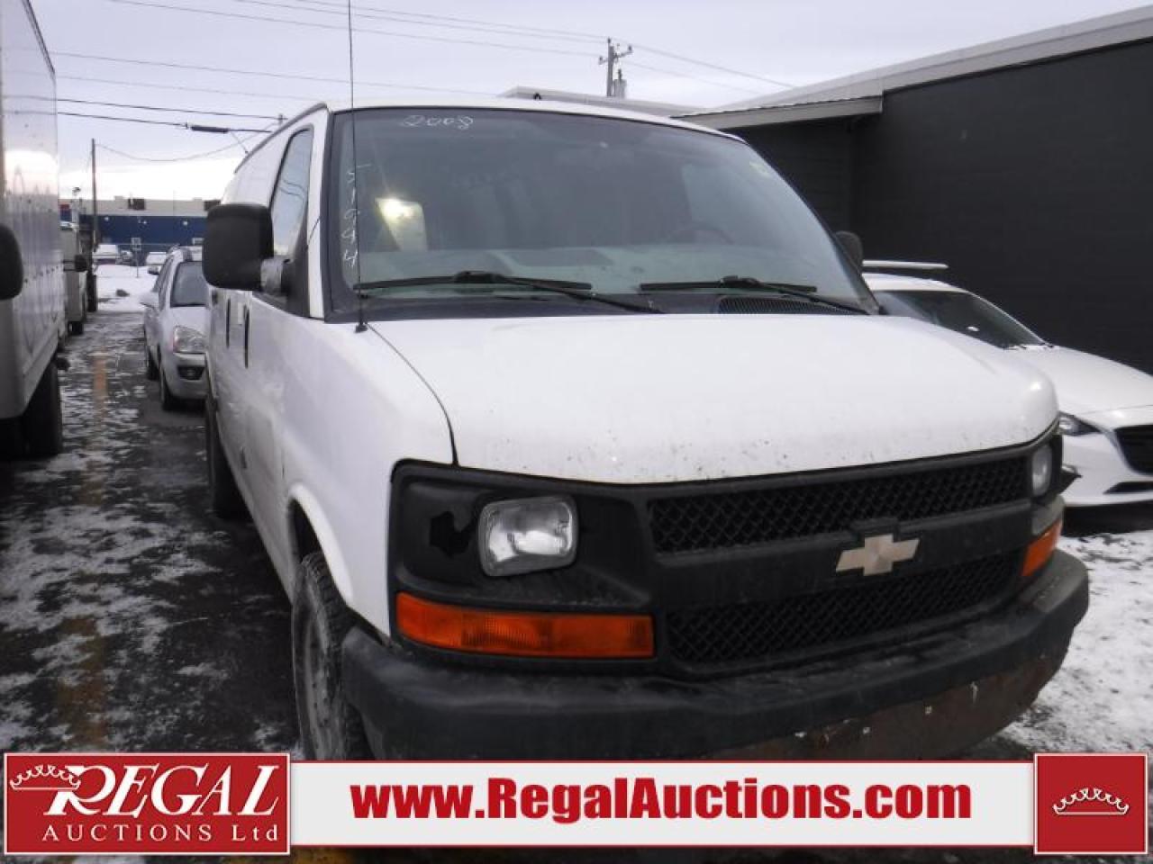 Photo of White 2008 Chevrolet Express 2500