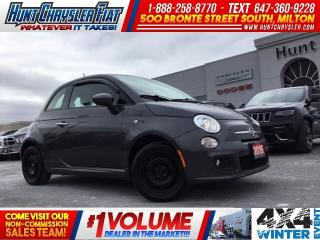 Used 2015 Fiat 500 SPORT | AIR | HTD STS | LOW KMS!!! for sale in Milton, ON