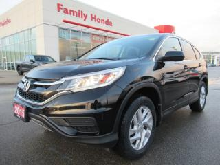 Used 2015 Honda CR-V SE for sale in Brampton, ON