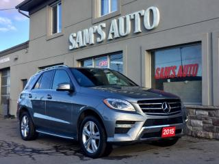 Used 2015 Mercedes-Benz ML-Class 4MATIC 4dr ML350 BlueTEC for sale in Hamilton, ON