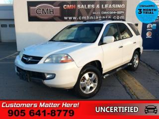Used 2003 Acura MDX 3.5  AS IS, (UNCERTIFIED), AS TRADED IN for sale in St. Catharines, ON