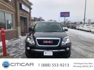 Used 2011 GMC Acadia SLT1*HTD LEATHER*8 PASSENGERS*DUAL ROOF*CAMERA*AWD for sale in Winnipeg, MB