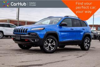 Used 2018 Jeep Cherokee Trailhawk|4x4|Navi|Backup Cam|Bluetooth|Keyless Entry|pwr windows|17